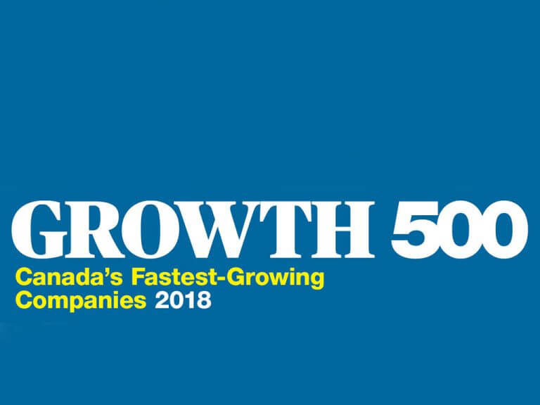 Processia recognized in Canada's Fastest Growing Companies