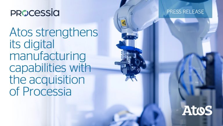 Processia joins forces with Atos to accelerate our growth plan
