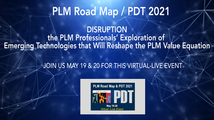 Key Takeaways from the CIMdata PLM Roadmap and PDT Spring 2021 Conference